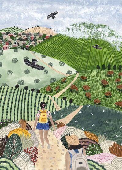Sara Boccaccini Meadows, 'Wine Country Hike', 2021