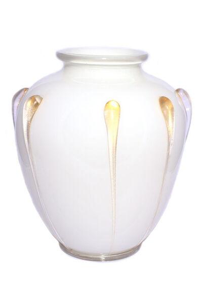"Italian, Murano Glass, Venice, 'Pre-war ""incamiciato"" vase (model Z 2090)'"