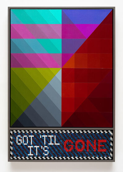 Jeffrey Gibson, 'GOT 'TIL IT'S GONE', 2018