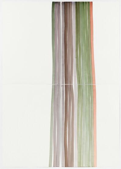 Silvia Bächli, 'Mantel Nr.9', 2017
