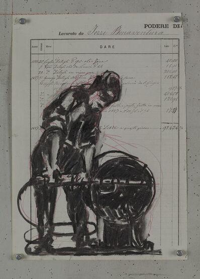 William Kentridge, 'Drawing for Processione di Riparazionisti (3)', 2017