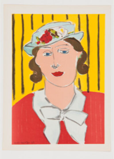 Henri Matisse, 'Femme au Chapeau ', ca. 1939