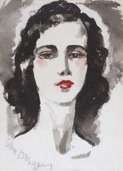 Kees van Dongen, 'Portrait de jeune femme', 1877-1968