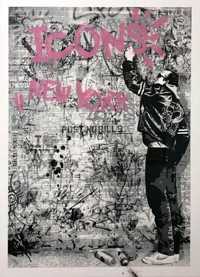 Mr. Brainwash, 'The Wall (Pink)', 2012