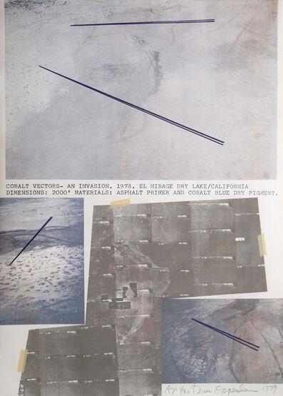 Dennis Oppenheim, 'Cobalt Vectors', 1979
