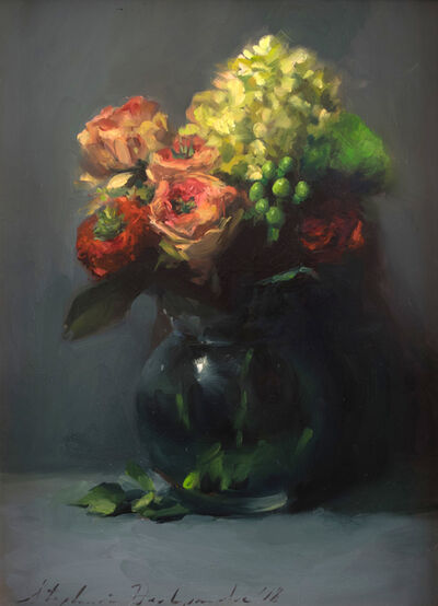 Stephanie Deshpande, 'Grassy Eye Bouquet'