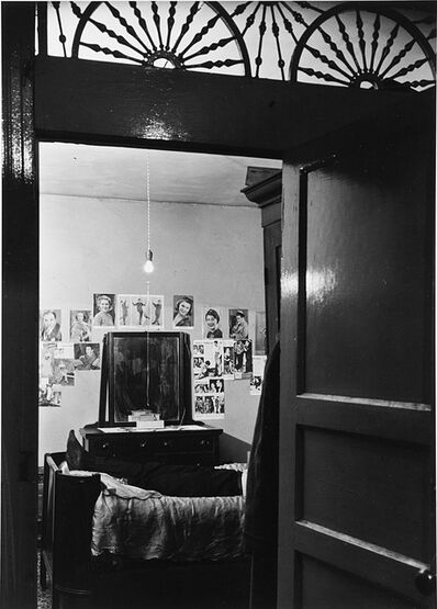 Aaron Siskind, 'Bedroom through Doorway, Harlem', 1940