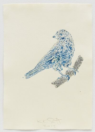 Kiki Smith, 'Looking West I', 2012