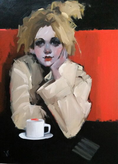 June Valentine Ruppe, 'In Just for the Coffee', 2019