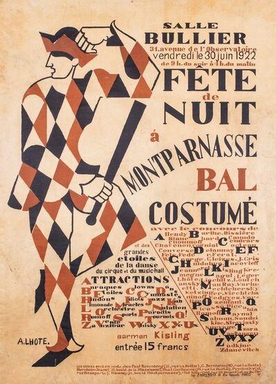 André Lhote, 'Salle Bullier-fete de nuit à Montparnasse', 1922