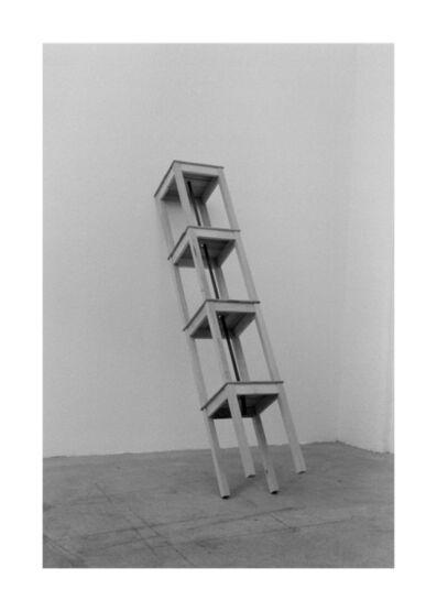 Roman Signer, 'Vier Hocker / Four Stools', 1985