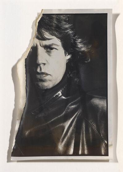 David Bailey, 'Uncharted - Mick Jagger', 1985