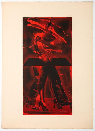 Allen Jones, 'Red Feat', 1976