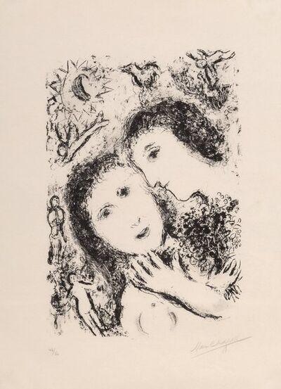 Marc Chagall, 'Le couple aux anges', 1979