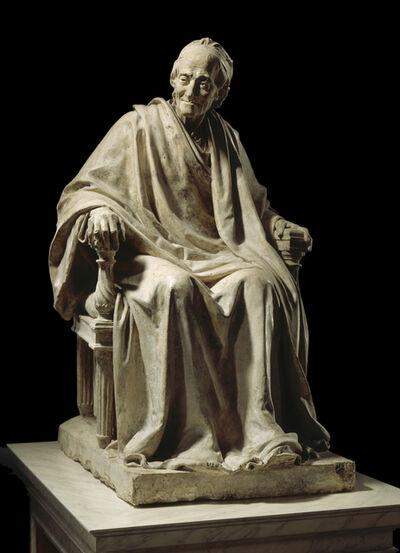 Jean-Antoine Houdon, 'Seated Voltaire', ca. 1779-1795