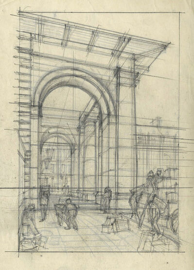 Cyril Power, 'Untitled (Architectural Study)', ca. 1925