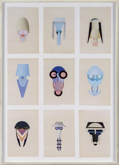 Erik Frydenborg, 'Full Color Bachelors 327-335', 2015