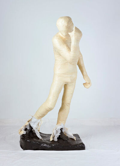 Adad Hannah, 'Unwrapping Rodin White 2', 2010