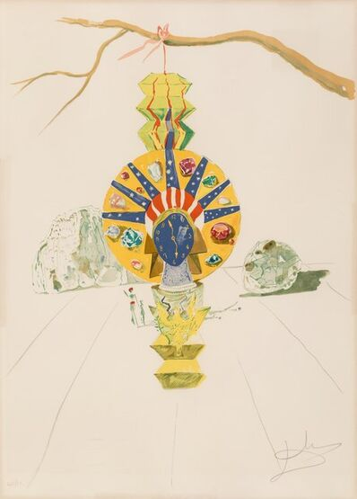 Salvador Dalí, 'American Clock, from Time', 1976