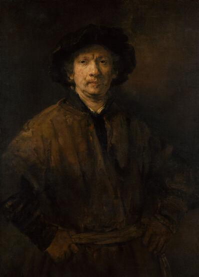 Rembrandt van Rijn, 'Large Self-Portrait', 1652