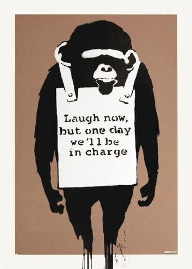 Banksy, 'Laugh Now (Signed Print)', 2004