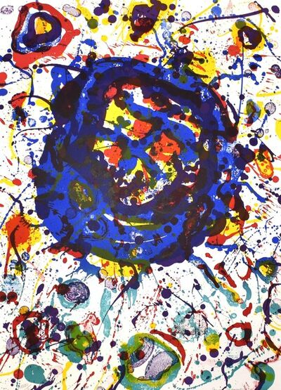Sam Francis, 'Untitled, from Michel Waldberg: Poemes dans le ciel', 1986