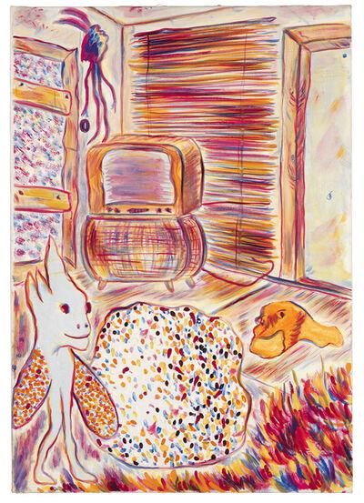 "Alfred Klinkan, '""Schilderijen uit Freising/Alter Fernseher""', 1979"