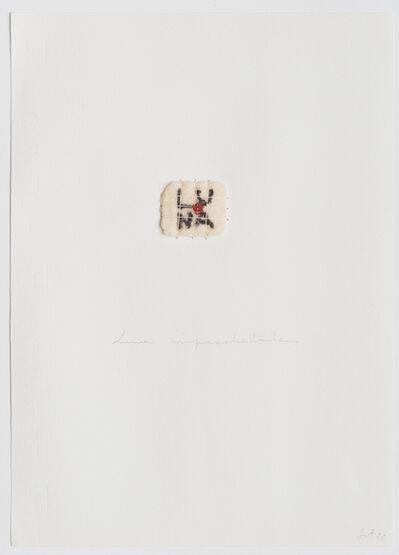 Elisabetta Gut, 'Luna impachettata', 1977