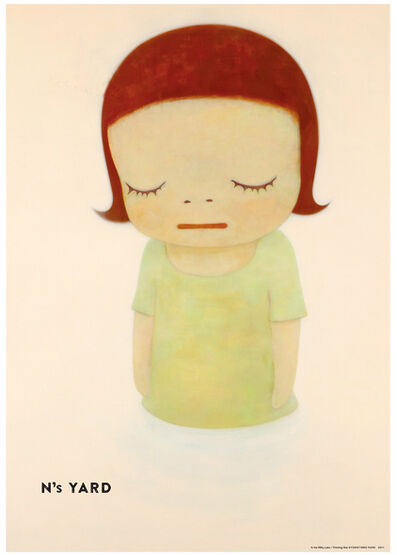 Yoshitomo Nara, 'In the Milky Lake Thinking One', 2010-2020