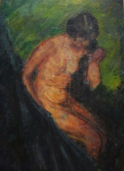 Edith Dimock, 'Female Nude Figure', 1910-1930