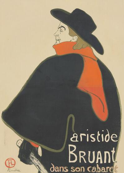 Henri de Toulouse-Lautrec, 'Aristide Bruant Dans Son Cabaret', 1893