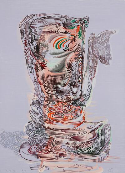 James Esber, 'Untitled (Blue Hummel with Hankie)', 2012
