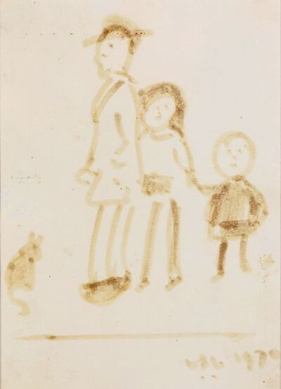Laurence Stephen Lowry, 'Family Group'