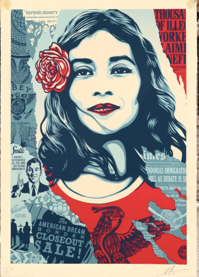 Shepard Fairey, 'Defend dignity', 2019