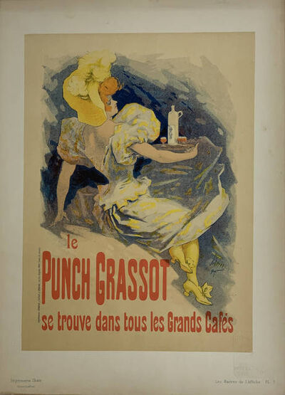 Jules Chéret, 'Advertising Poster for Punch Grassot', 1896