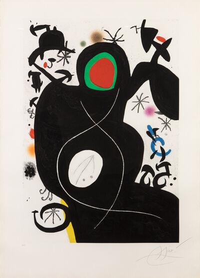 Joan Miró, 'L'aveugle parmi les oiseaux', 1978
