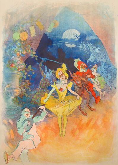Jules Chéret, 'Musée Grévin, Théâtre les Fantoches', 1900