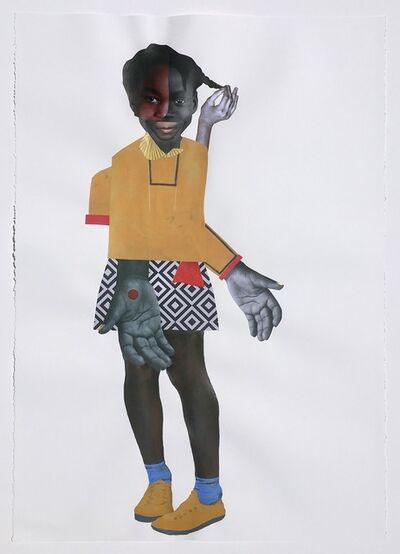 Deborah Roberts, 'Human Nature', 2018
