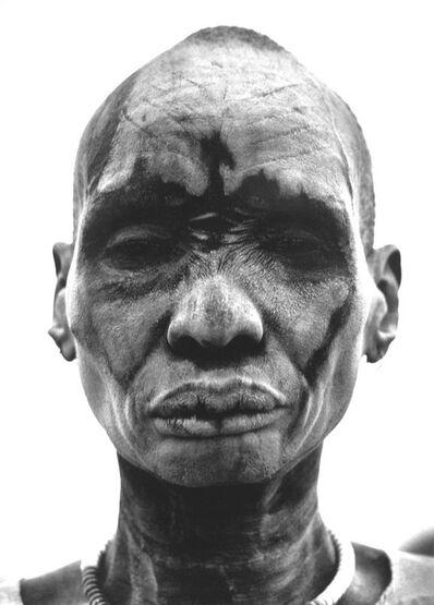 Sebastião Salgado, 'Dinka man at the cattle camp of Kei', 2006