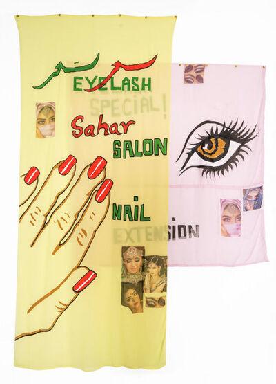 Hangama Amiri, 'Sahar, Nail Salon and Eyelash Extensions #3', 2020