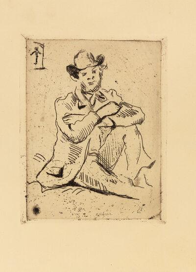 Paul Cézanne, 'Portrait du peintre A. Guillaumin au pendu'
