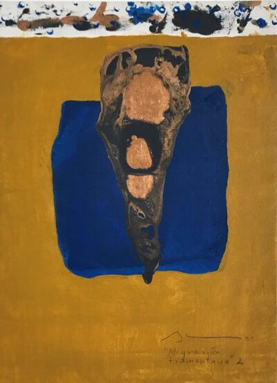 Héctor Burke, 'Migracion tramontana 2', 2014