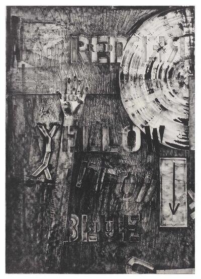 Jasper Johns, 'Lands End', 1979