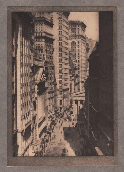 Alvin Langdon Coburn, 'The Stock Exchange', Neg. date: 1909 c. / Print date:1909