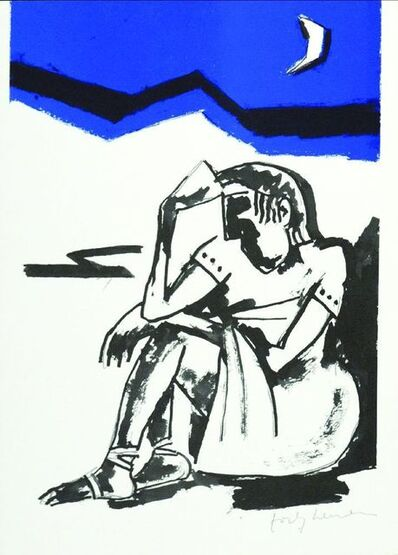 Josef Herman RA, 'Poems By Catullus', 1981