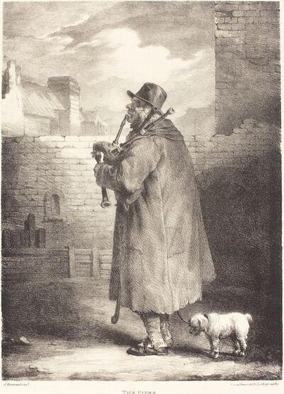 Théodore Géricault, 'The Piper', 1821