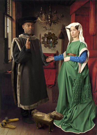 E2 - KLEINVELD & JULIEN, 'Ode to Van Eyck's Arnolfini Marriage', 2012