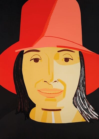 Alex Katz, 'Red Hat (Ada)', 2015