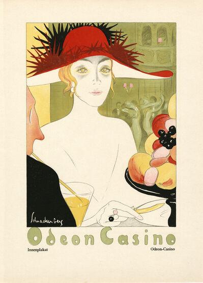 """Walter Schnackenberg, '""""Odeon Casino II"""", Kostume, Plakate und Decorationen', 1920"""