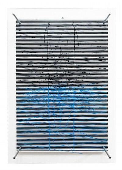 Jesús Rafael Soto, 'Escalera Azul', 1979